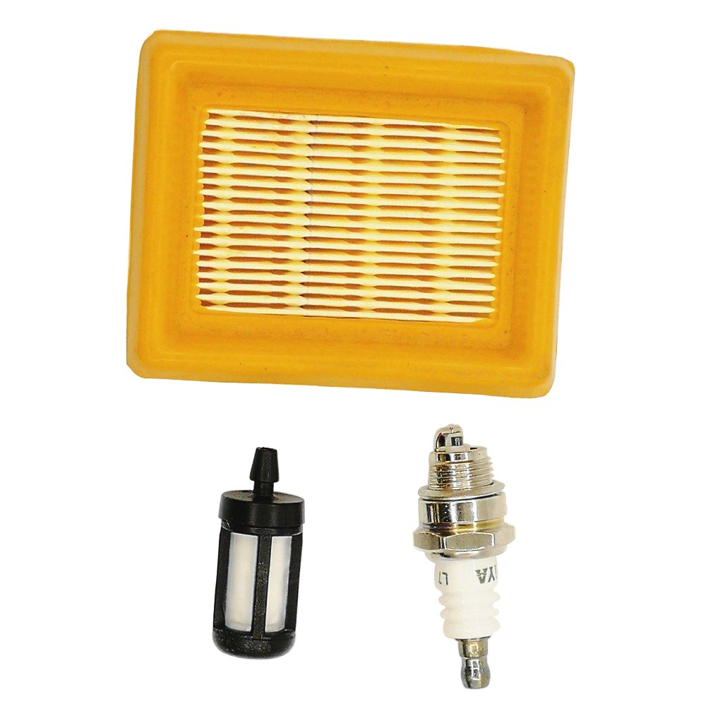 Aire Filtro de combustible bujías para STIHL cortadora Stihl FS120FS200FS250FS300FS350FS400FS450 Shioshen