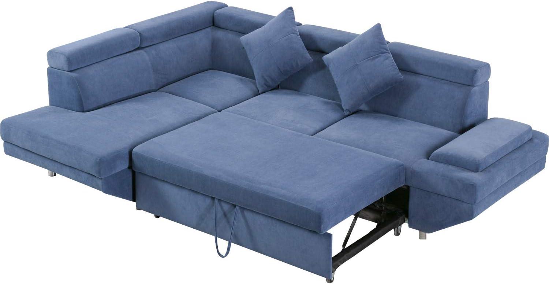 Sleeper Sofa Bed Sectional Sofa Futon Sofa Bed Sofas for Living Room  Furniture Set Modern Sofa Set Corner Sofa Contemporary Upholstered Fabric