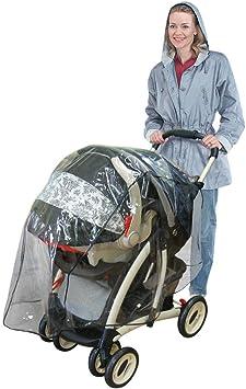 GLOGLOW Stroller Bag for Double Stroller Jogging Stroller and Travel Systems Oxford Gate Bolso de Viaje Flight Travel Gear Baby Infant Travel Bolso de Coche Sillita de Paseo Cochecito Car Stroller