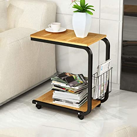 Swell Q Hl Sofa Side End Table C Shaped Metal Storage Small Machost Co Dining Chair Design Ideas Machostcouk