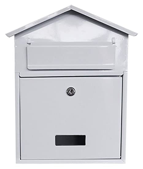 Postbox Letter Box Post Box Outside Mailbox Metal External Mail