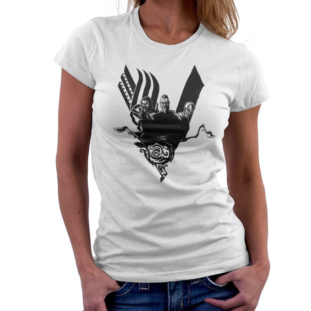 Plunder Vikings Ragnar Lothbrok Women/'s Sweatshirt