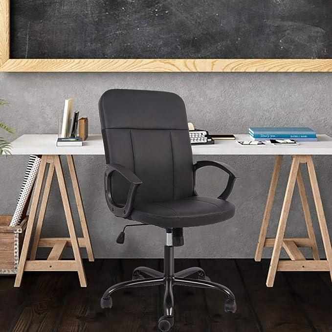 SMUGDESK Office Chair Mid-Back Desk Chair - Maximum Durability