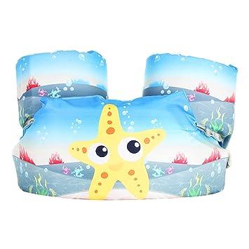Surenhap Manguitos Bebe Puddle Jumper Armbands Juguete Hinchable para Niños Aprender a Nadar - Estrella de mar: Amazon.es: Hogar