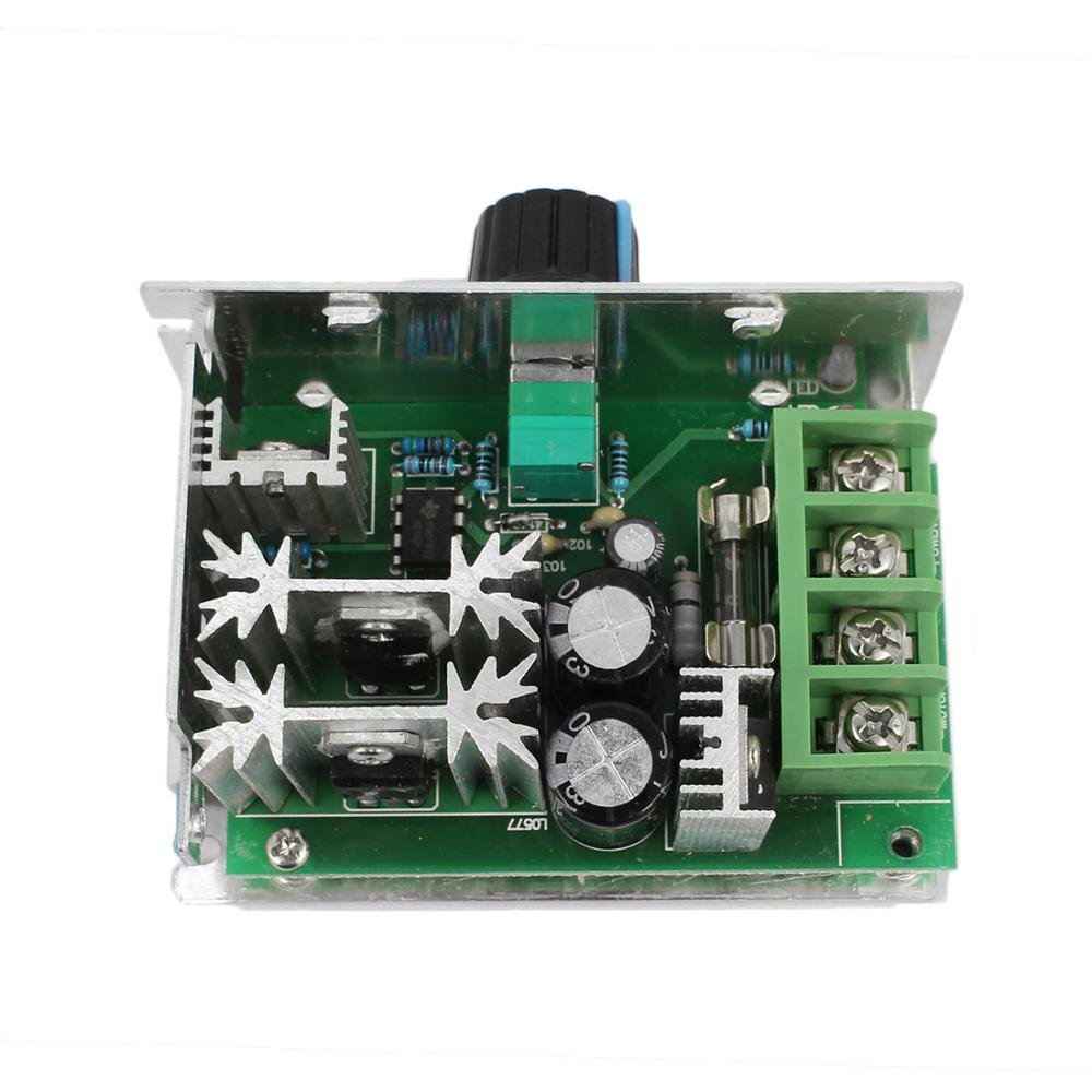 Guteauto 10-60V 20A Adjustable PWM DC Motor Speed Controller Regulator Switch with Reverse Polarity Protection by Guteauto (Image #2)