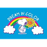 """Peanuts PE-SLRA-19-C-18 'Dream Color' Painting Print on Wrapped Canvas, 18"""" X 12"""""""
