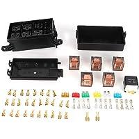 Portafusibles, Caja de Fusibles para Automóvil de 6