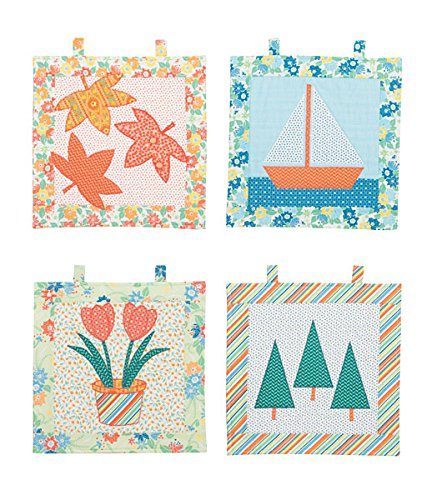 Connecting Threads Wall Hanging Quilting Kit (Four Seasons)