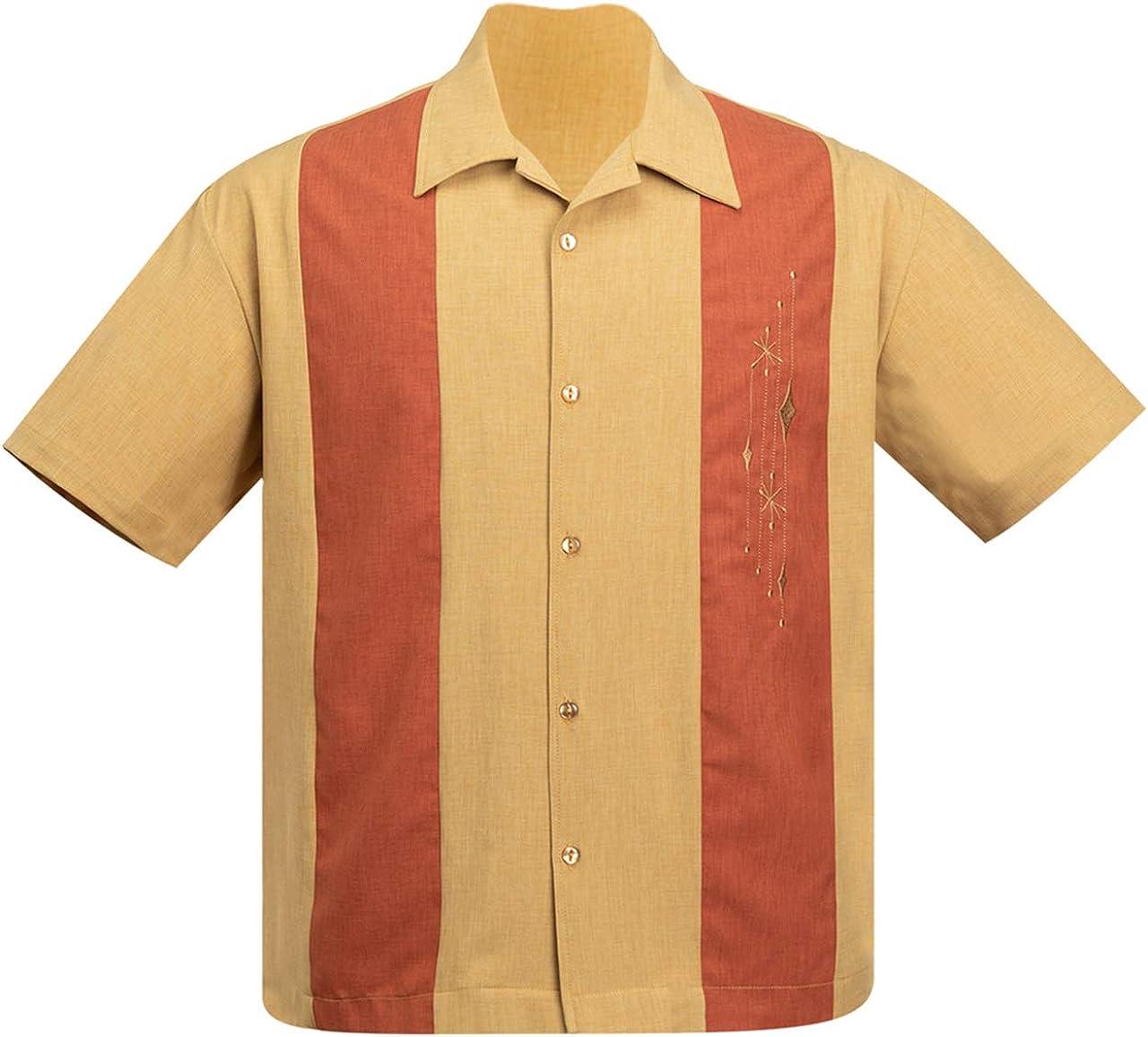 Steady Clothing Mid Century Marvel - Camisa de bolos, color ...