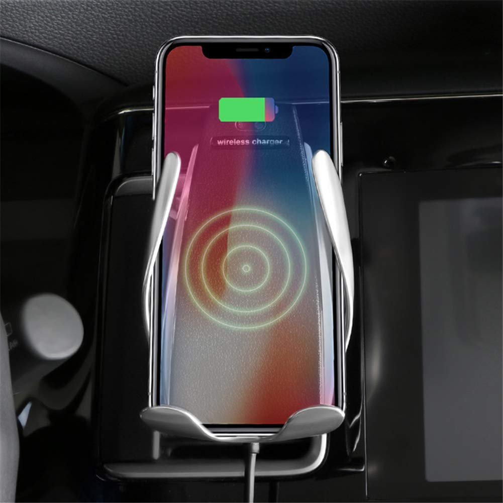 Car Charger Holder for iPhone XR XS Max X 8 8+,10W Fast chargeing for Samsung All.Infrared Motion Sensor Automatic Open and Clamp for Safe Driving XIHUA 4351634184 Automatic Clamping Wireless Car Charger Mount