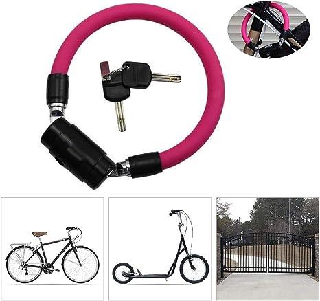 LieYuSport Candado Bici,Candado Bicicleta Alta Seguridad,15mm de ...