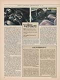 1993 JEEP GRAND CHEROKEE LAREDO V-8 COLOR ROAD TEST - ORIGINAL CAR & DRIVE - USA - EXCELLENT !!