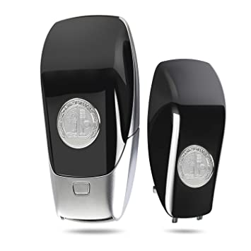 Amazon.com: Hikig Emblema de metal Smart Key Cover Logo ...
