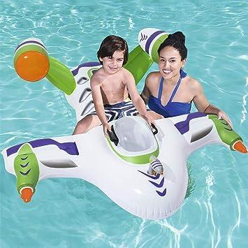 Amazon.com: Juguetes inflables para niños con forma de nave ...