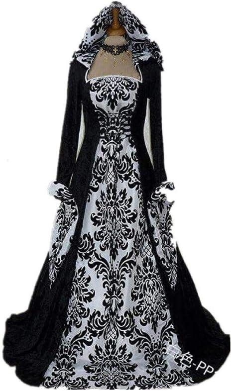 Gbyay Disfraz De Halloween Wicca Dress Mujeres Adulto Tallas Grandes Scary Cosplay Wizard Disfraces De Halloween Para Mujeres Amazon Es Deportes Y Aire Libre