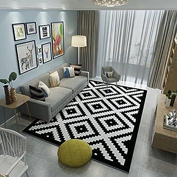 Area Rugs Simple Modern Carpet Floor Mat Nordic Style European Living Room Coffee Table
