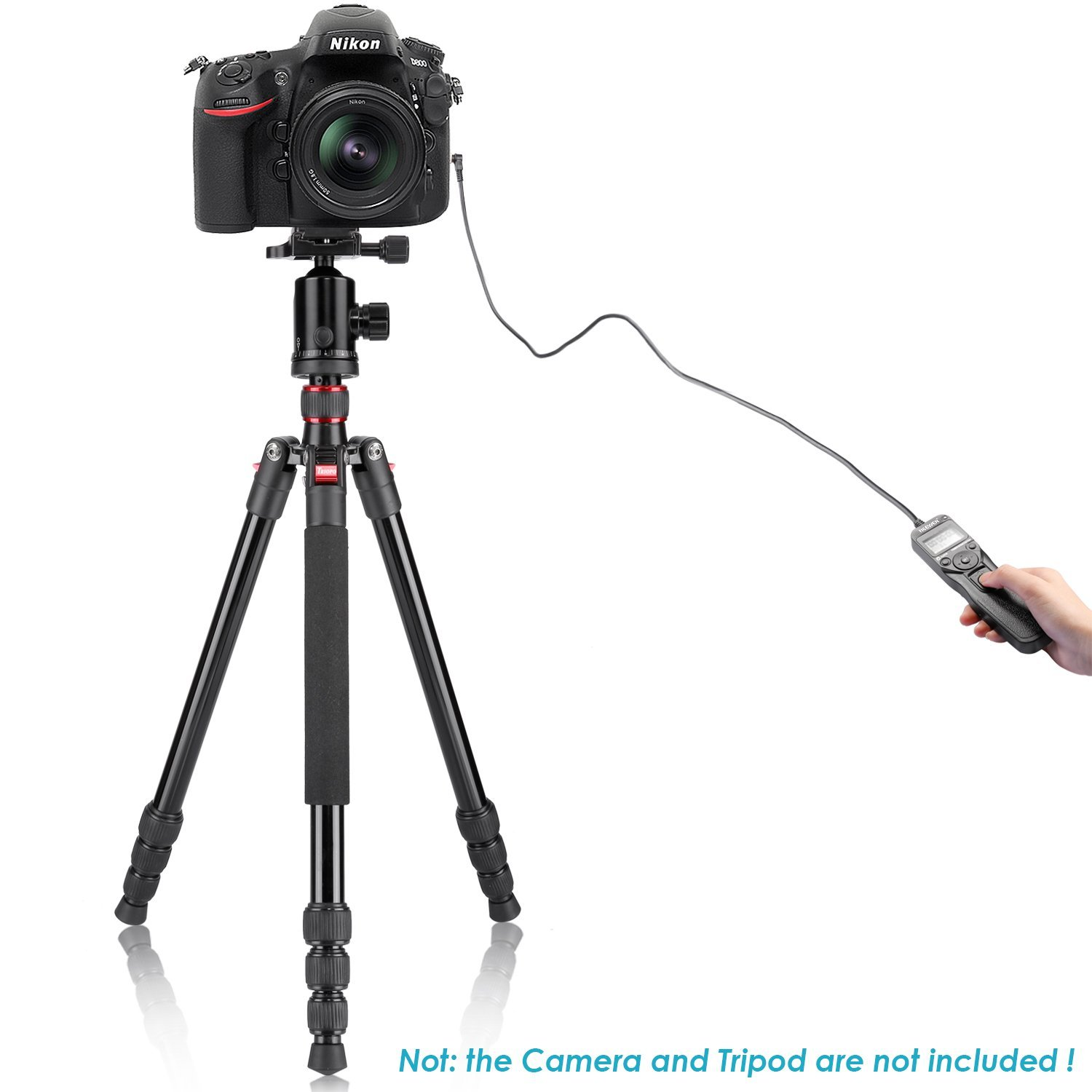 D700 Neewer Photography Digital Interval Meter Timer Remote Control Compatible with Nikon D200 D300  D300S D810 D800 D800E F5 F6 F100 F90 F90x Kodak DCS-14n Fujifilm Finepix S3pro S5pro