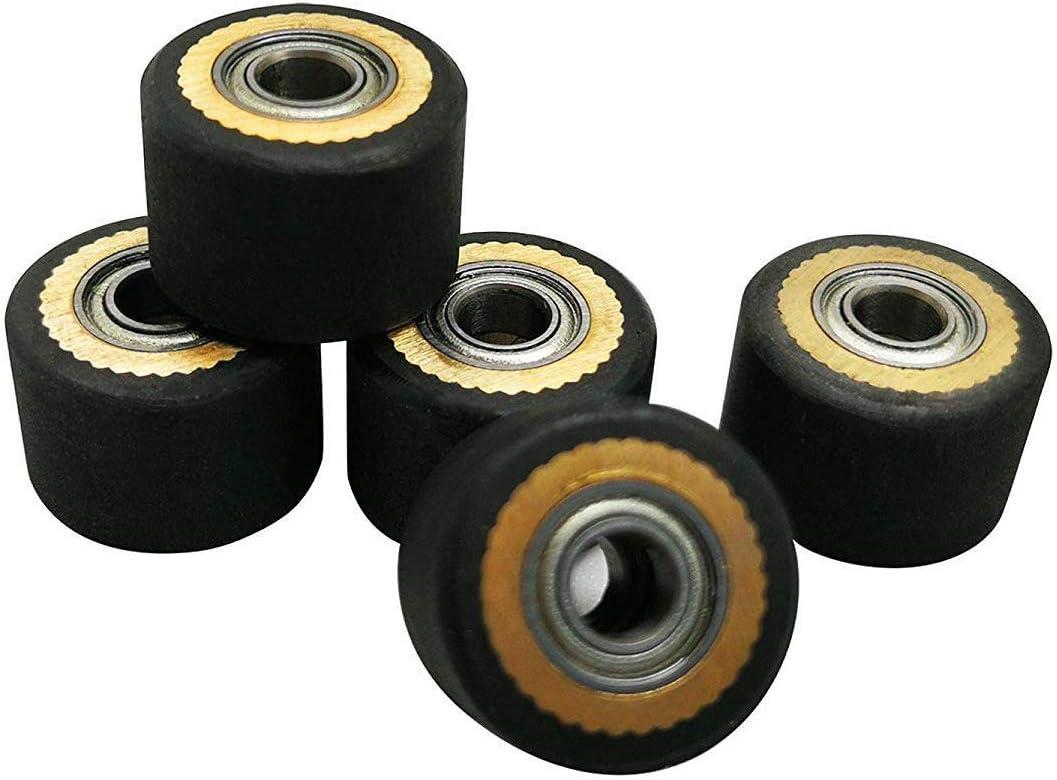 TUONAI 5 Piezas HQ Pinch Roller para Roland GCC LiYu Rabit Pcut ...