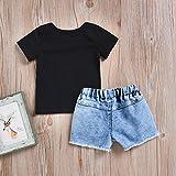 Seaby Toddler Fashion Nirvana Smiley Black T-Shirt