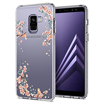 quality design bb62a 57624 Samsung Galaxy A8 Case (2018), Spigen [Liquid Crystal] [Blossom Nature]  Compatible with Galaxy A8 2018-590CS22750