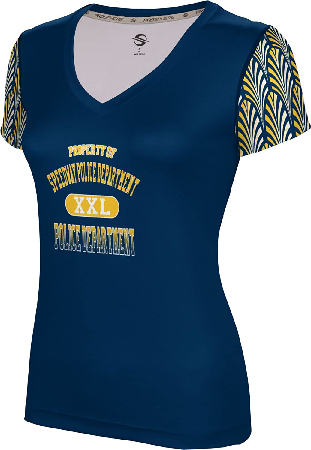 ProSphere Women's Speedway Police Department Deco SL V-Neck Training Tee