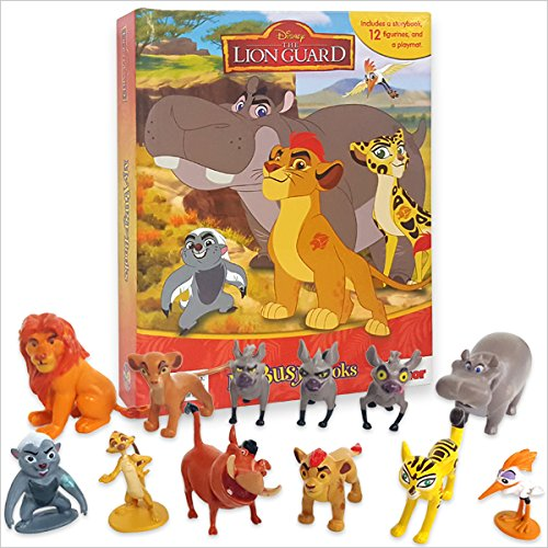 Licensed Story Book Set The Lion Guard The Lion King