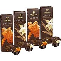 Probierpaket Tchibo Cafissimo Flavoured Edition Espresso Caramel & Espresso Vanilla, Premium Qualität, 40 Kapseln - neue Herbstsorten