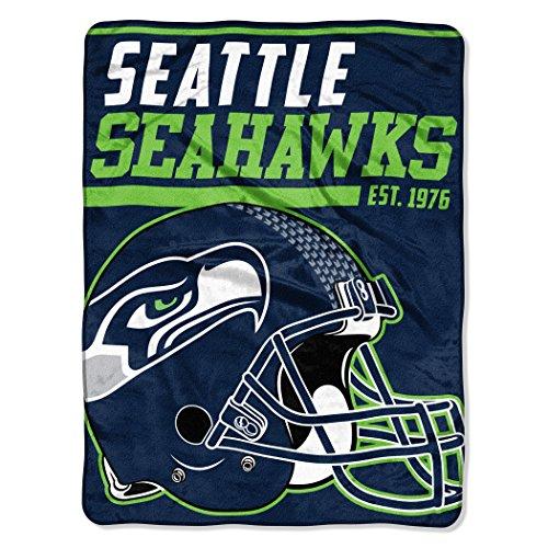 - NFL Seattle Seahawks 40 Yard Dash Micro Raschel Throw, 46