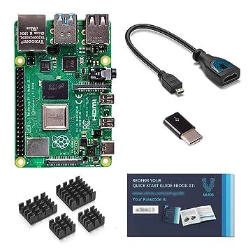 Amazon.com: Vilros Raspberry Pi 4 - Libro electrónico con ...