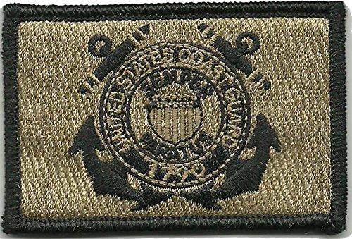 U.S. Coast Guard Tactical Patch - Coyote