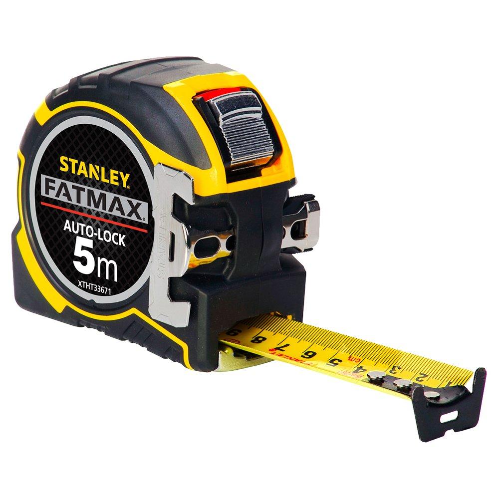 Stanley XTHT0-33501 Mesure magnetique autolock 8x32mm fatmax, Jaune/Noir