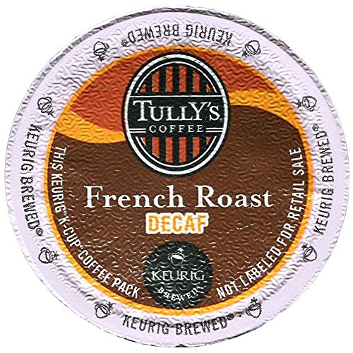 Tully'S Keurig Decaf French Roast K-Cups 24 Ct