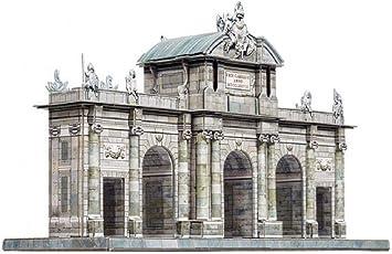 CLEVER PAPER- Puzzles 3D Puerta de Alcalá, Madrid (14353): Amazon.es: Juguetes y juegos