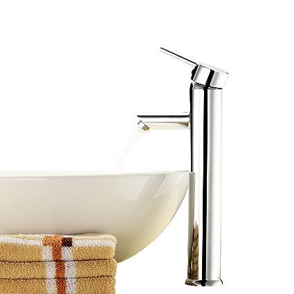 Amazoncom Above Counter Bathroom Sink Faucet Combo Single Handle