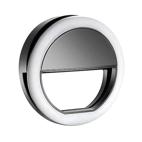 neewer luce ad anello led  Neewer Anello di luce, a 36 LED, ad aggancio, per cellulare, per ...
