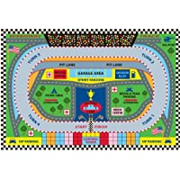 Fun Rugs FT-120 3958 Speedway Childrens Rug, 39-Inch by 58-Inch
