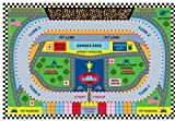 Cheap Fun Rugs FT-120 3958 Speedway Childrens Rug, 39 in x 58 in, Multi-Colored