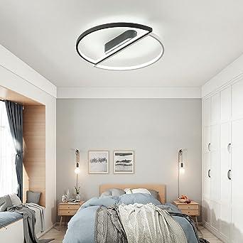 Dimmbar Schlafzimmerlampe Modern Led Deckenleuchte Deckenlampe Runde
