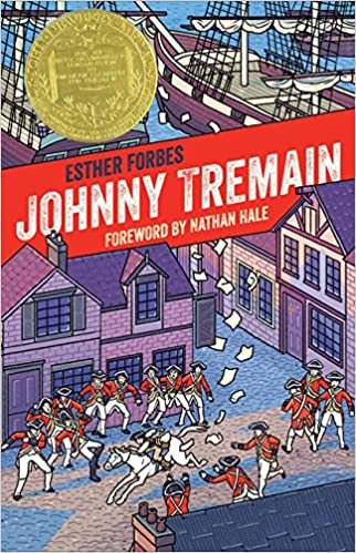 Johnny tremain 75th anniversary edition esther hoskins forbes johnny tremain 75th anniversary edition esther hoskins forbes nathan hale 9781328489166 amazon books fandeluxe Image collections