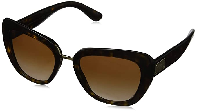 Amazon.com: anteojos de sol Dolce & Gabbana DG 4296 502/13 ...