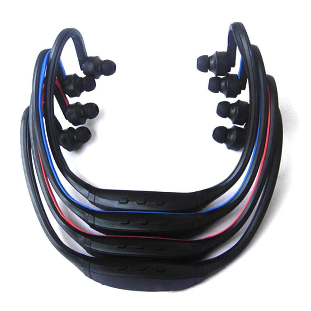 Auriculares Est/éreo Resistentes Al Sudor para Correr IrahdBowen Auricular Bluetooth Deportes Inal/ámbricos Auriculares MP3 Auriculares con Tarjeta En La Oreja Reproductor De MP3