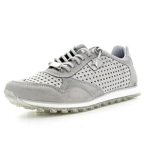 Cetti C848 Sra - Zapatillas de Piel Lisa Mujer, Color Gris, Talla 38 EU: Amazon.es: Zapatos y complementos