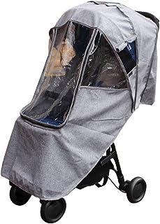 Purplert Universal Regenschutz für Kinderwagen Kinderwagen Buggy Kinderwagen, Baby Travel Weather Shield