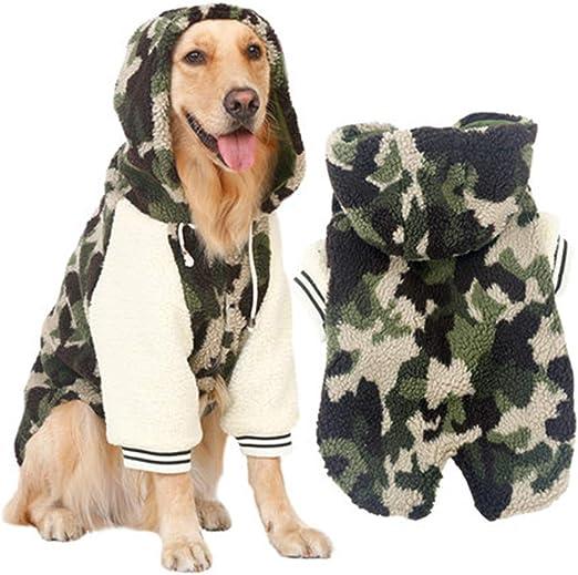 WDTMZN Perros medianos y Grandes Perros Camuflaje Deportes ...