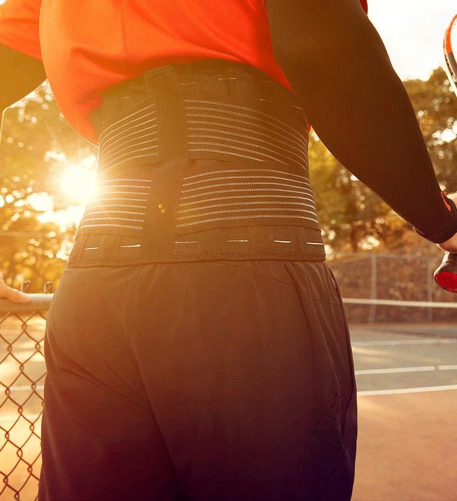 Incrediwear Radical Pain Relief Back Brace X-Large, Black Color, 1 Ea