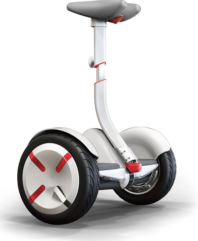 【Amazon.co.jp限定】ninebot(ナインボット) Ninebot mini Pro(ナインボットミニプロ) 軽量でコンパクト、かんたん操作 バランススクーター ※保証期間1年付き B01875860Kホワイト
