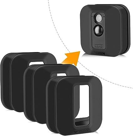 Blink Xt Hülle Silikon Skin Für Blink Xt Outdoor Home Security Kamera Uv Und Wasserfest Indoor Outdoor Blink Xt Schutzhülle 3er Pack Schwarz Elektronik