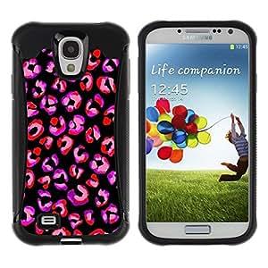 Suave TPU GEL Carcasa Funda Silicona Blando Estuche Caso de protección (para) Samsung Galaxy S4 IV I9500 / CECELL Phone case / / pink red purple black animal pattern fur /
