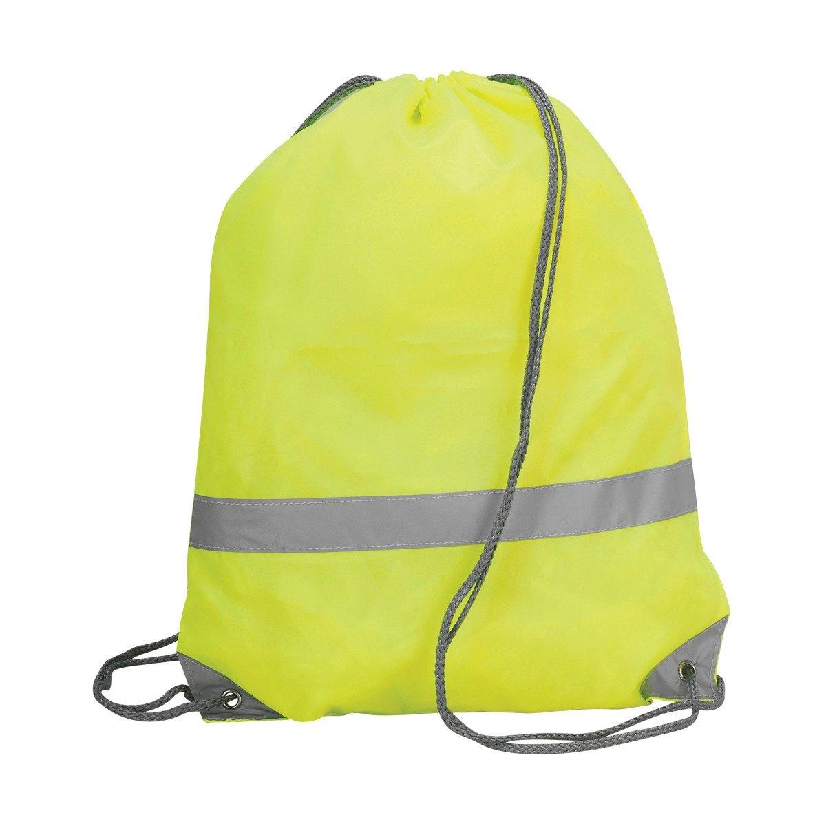 Shugon Stafford Drawstring Hi-Vis Tote Bag (13 Litres) (One Size) (Hi Vis Orange) UTBC3270_1