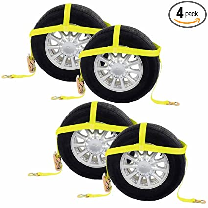 amazon com us cargo control wheel net 2 tire holder w ratchet